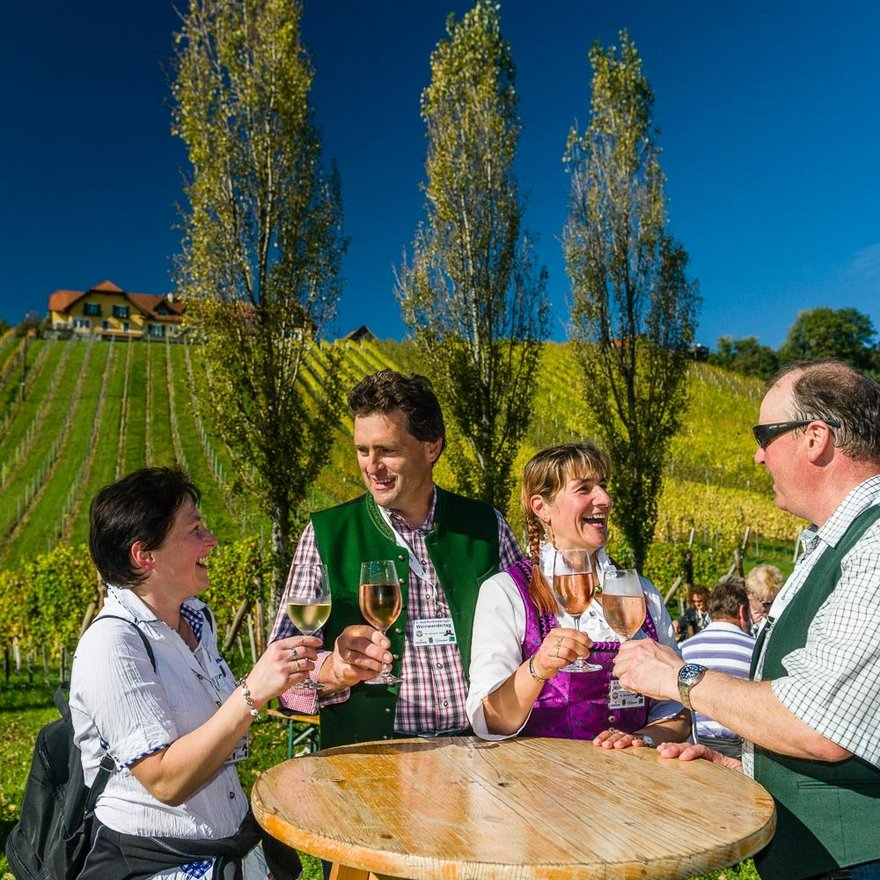 Weinwandern in der Region Bad Radkersburg